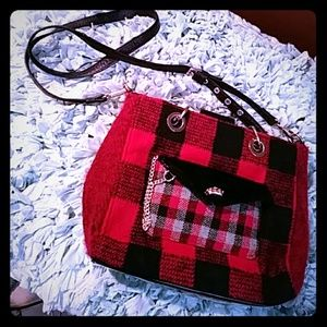 ❤ Plaid Juicy Couture cross body!!